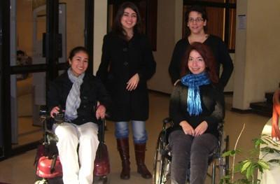 Estudiantes con Discapacidad de la Universidad de La Frontera. Año 2009