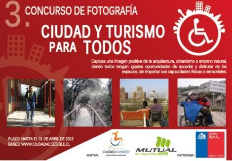 """3. Concurso de Fotografía """"Ciudad y Turismo para Todos"""""""