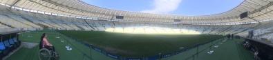 Panorámica del Estadio Maracaná